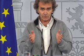 Simón, sobre la protesta en Madrid: «Las manifestaciones no tienen por qué ser el origen de los contagios»