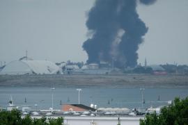 Explosión en una planta química de Venecia