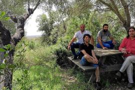 El antiguo Bosc de sa Vacal de ACA en Búger será el primer Parc de les Olors de las Baleares