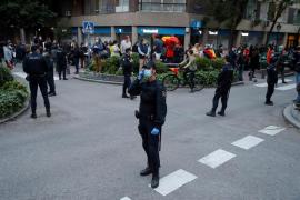 Vuelven las protestas en el barrio de Salamanca tras saber que Madrid sigue en la fase 0