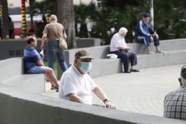 El uso de la mascarillas por las calles de Ibiza en imágenes (Fotos de Daniel Espinosa)
