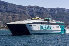 Baleària retomará el día 25 las conexiones interinsulares en alta velocidad
