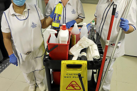 El sector de la limpieza, esencial en la crisis del coronavirus