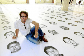 Bernardí Roig inaugura 'Walking on faces' en sa Lonja