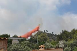 El Ibanat sospecha que los incendios de Andratx pueden ser intencionados