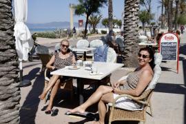 El verano anticipado llega a Mallorca, con temperaturas casi 10º más altas de lo normal