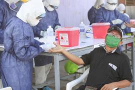 20 de mayo: la OMS reporta la mayor cifra de contagios en un solo día