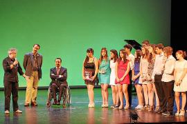 La Kimberly se lleva el premio a la mejor actriz en la final de los Buero de Teatro