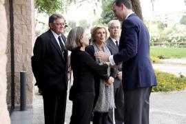 Don Felipe no faltó en el último adiós a Marcial Sánchez-Barcaiztegui