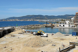 El paseo marítimo del Molinar estará operativo a finales de julio