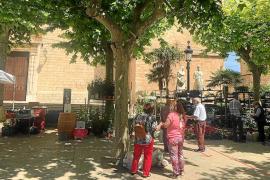 El mercado de Binissalem vuelve entre originales medidas higiénicas