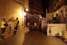 Emaya recupera el servicio de recogida de trastos y abre los parques verdes