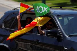Investigan disparos contra un coche en la marcha de VOX en Jaén