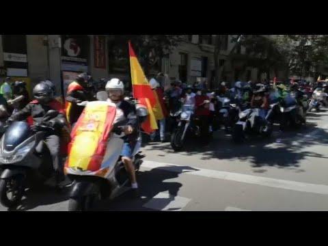 Sonora y participativa marcha de Vox en Palma
