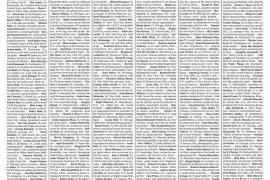 El New York Times llena su portada con 1.000 obituarios de fallecidos por COVID-19