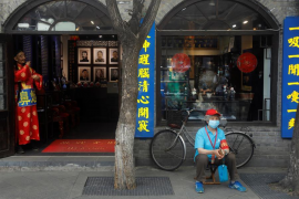 China registra un incremento de casos por positivos llegados de otros países