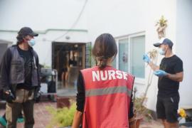 Una campaña de Sanidad grabada en Mallorca es el primer rodaje con actores durante el estado de alarma