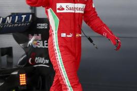 Alonso está «muy  contento después de dos años sin lograr la pole»