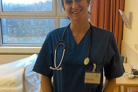 Conchita Suau, auxiliar de enfermería: «Aquí no tenemos un confinamiento muy estricto»