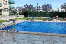 Retrasos en la puesta en marcha de las piscinas comunitarias en Palma