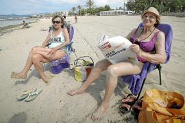 Las playas de Mallorca recuperan la vida