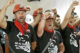 La 'Marcha Negra' minera llega hasta las puertas de Madrid