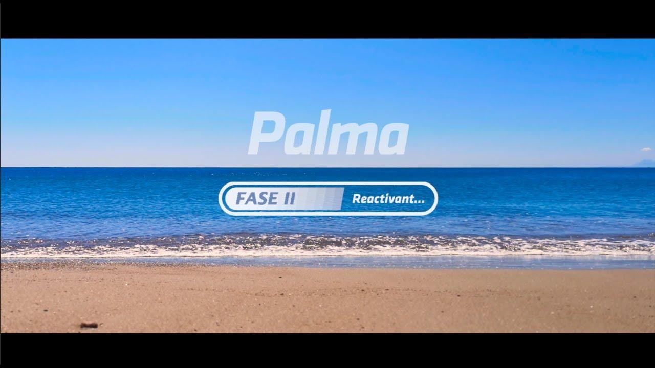El Ajuntament de Palma lanza un vídeo de la fase 2 y pide prudencia
