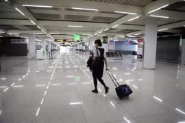 Dos viajeros extranjeros devueltos a Alemania tras llegar a Palma en un avión