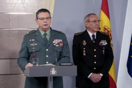 Renuncia el número 2 de la Guardia Civil tras la destitución de De los Cobos