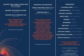 La Simfònica retoma la actividad el 29 de mayo y programa 59 conciertos en Baleares