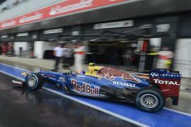 Webber puede con Alonso en Silverstone