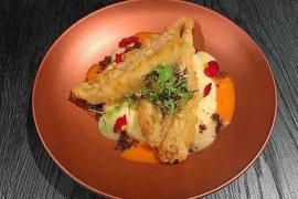 Salmonetes en tempura