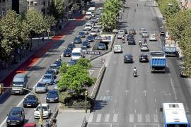 Vecinos y entidades cívicas de Palma piden a Cort más valentía en movilidad