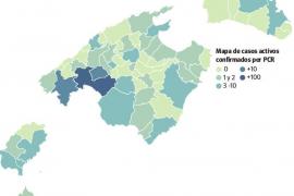 Sólo Palma, Marratxí y Calvià tienen más de 10 casos activos de coronavirus