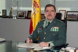 Pablo Salas, el nuevo director adjunto operativo, 40 años al servicio de la Guardia Civil