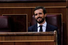 Casado, a Sánchez: «El que sobra en esta farsa no es un coronel, es su ministro»