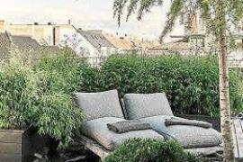 Un rincón de relax exterior