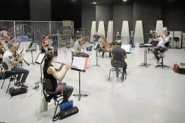 La Orquestra Simfònica se prepara para su primera cita del ciclo '#SonemPerTu'