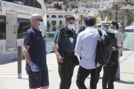 Cinco pasajeros denunciados en Ibiza y Formentera por viajar sin motivo justificado