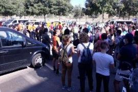 Decenas de voluntarios y servicios de emergencias buscan al joven desaparecido en Palma