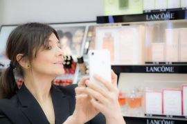 Pruebas de maquillaje a través de la inteligencia artificial frente al coronavirus