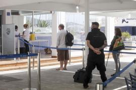 Una imagen de los test que se hicieron para tomar el ferry de Ibiza a Formentera.