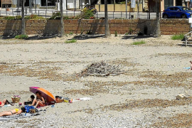 Quejas por el «deplorable» estado de las playas en Andratx