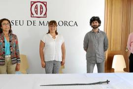 El Museu de Mallorca exhibirá la espada hallada en Puigpunyent