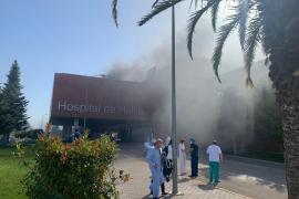 Un incendio obliga a desalojar a 150 personas en un hospital de Albacete
