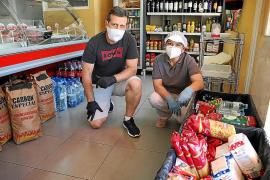 Despensa solidaria en Palma