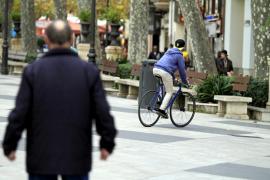 La Policía Local ya ha denunciado a 26 ciclistas infractores