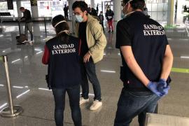 Viajeros internacionales en cuarentena en Baleares: 645 en 15 días