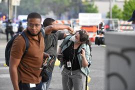 Un muerto y dos heridos en las protestas contra la muerte de George Floyd en Indianápolis
