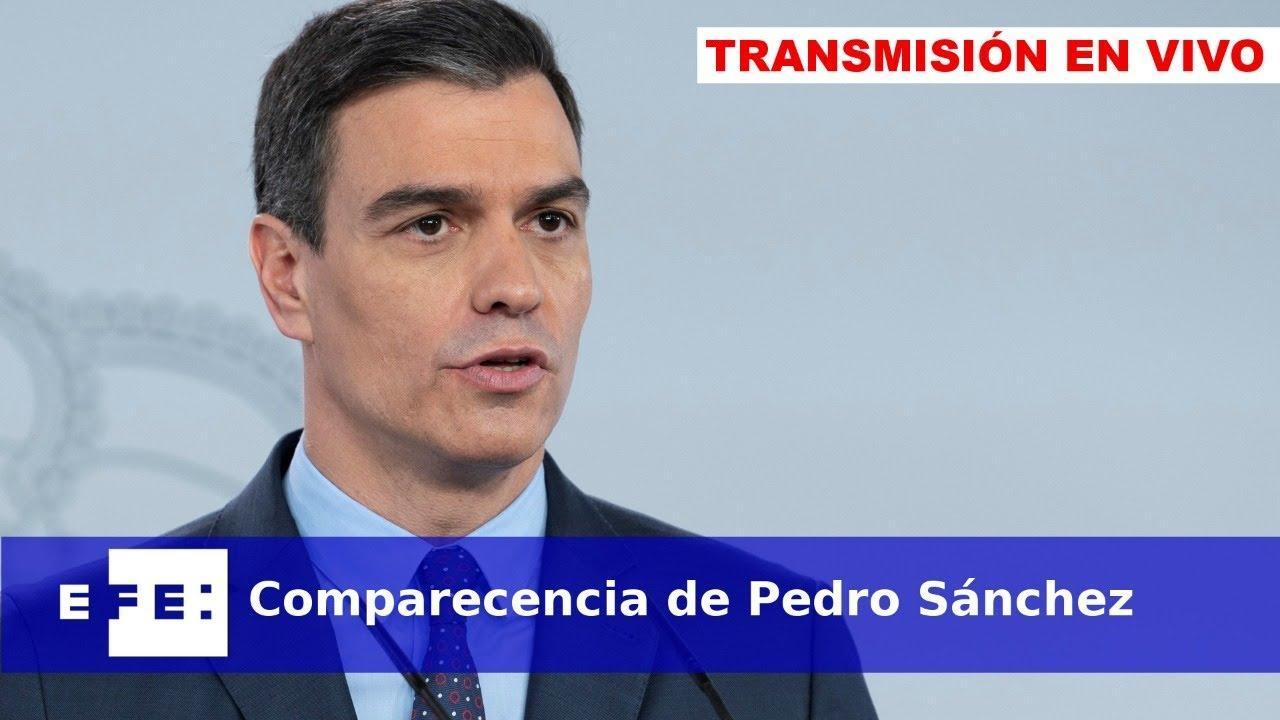 Así ha sido la comparecencia de Pedro Sánchez